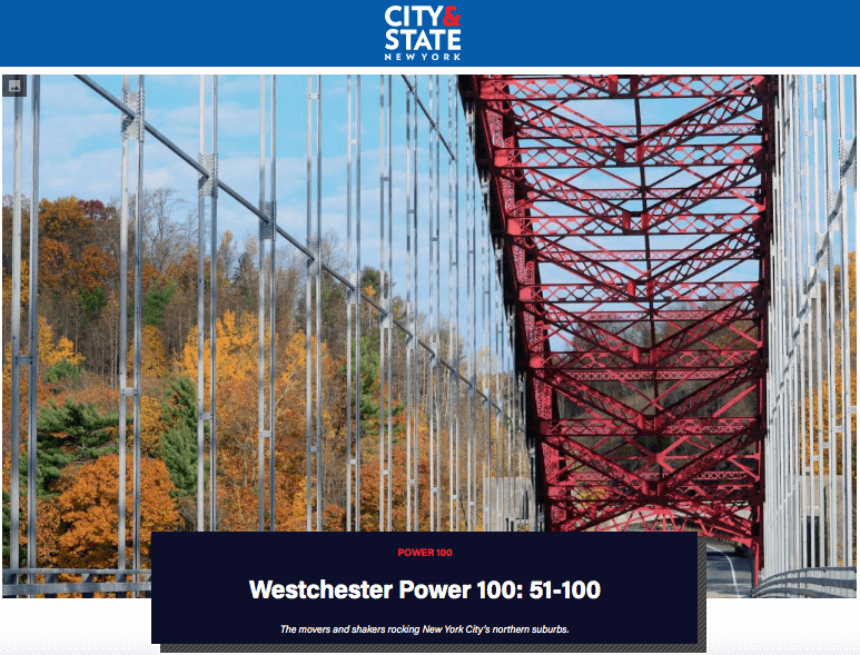 CM's Catherine Lederer-Plaskett Named One of Westchester Power 100