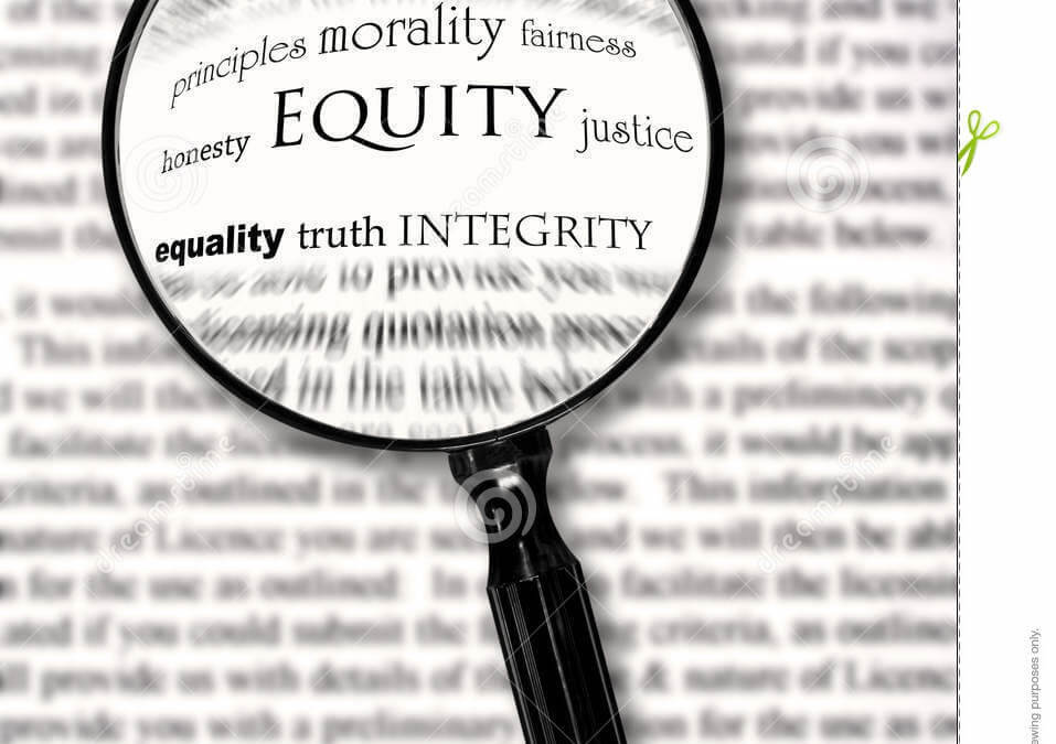 Why we say equity matters